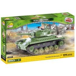 II WW Tank M24 Chaffee, 350 k, 1 f