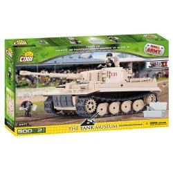 II WW Tank Tiger č. 131, 500 k, 3 f