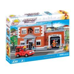 ACTION TOWN Velké hasičské auto 435 k, 3 f