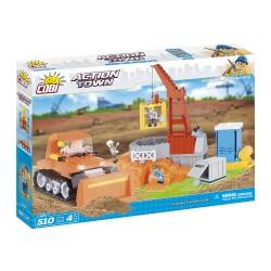 ACTION TOWN Stavební stroje 500 k, 4 f