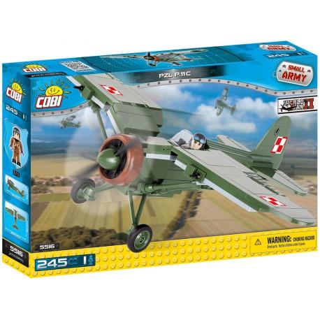 II WW PZL P-11 c, 250 k, 1 f