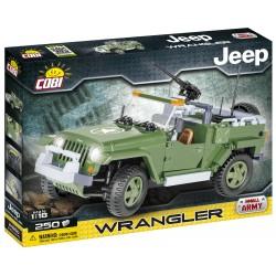 JEEP Wrangler vojenský, 250 k
