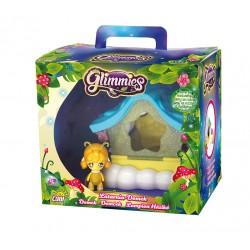 GLIMMIES 1 domeček-svítilna, 1 exkluzivní minipanenka