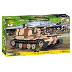 II WW Panzerjager Tiger SdKfz 184 Elefant, 500 k, 2 f