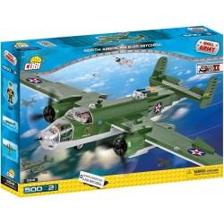 II WW B-25 B Mitchell, 500 k, 2 f