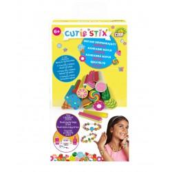 CUTIE STIX Tematicka sada (3 druhy: sladkosti / zviratka / smajlici)