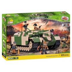 II WW Jagdpanzer IV, 500 k, 5 f