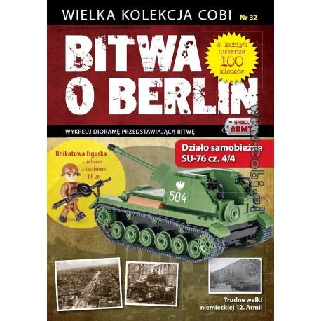 Bitva o Berlín n.32 SU-76 cz. 4/4