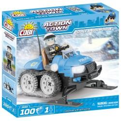 ACTION TOWN Policejní sněžný skútr 100 k, 1 f