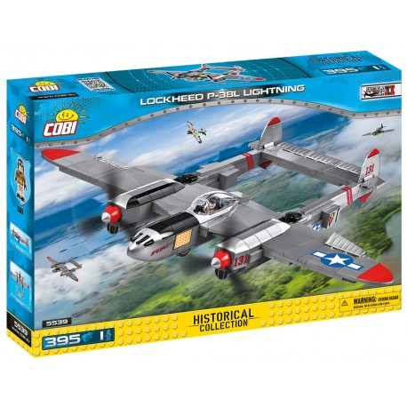 II WW Lockheed P-38 Lightning, 430 k, 1 f