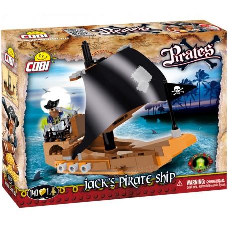 PIRÁTI Jackova pirátská loď, 140 k, 1 f