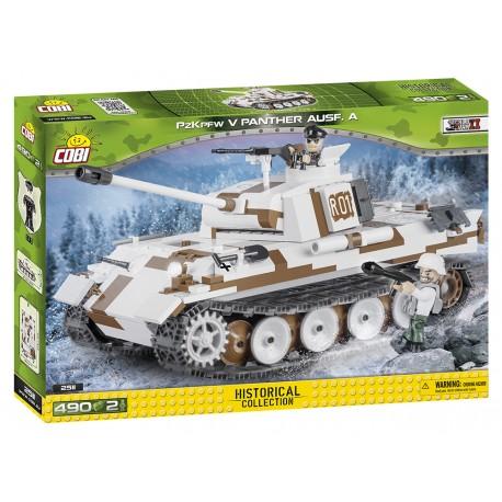 II WW PzKpfw V Panther Ausf. A, 490 k, 2 f