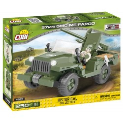 II WW 37 mm GMC M6 Fargo, 250 k, 1 f