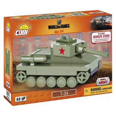 WOT Nano Tank T-34, 68 k