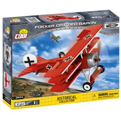 Great War Fokker Dr. 1 RED BARON, 175 k, 1 f