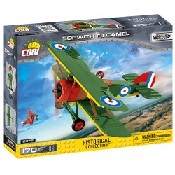 Great War Sopwith F.1 Camel, 170 k, 1 f
