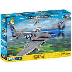 II WW P-51D Mustang 260 k, 1 f