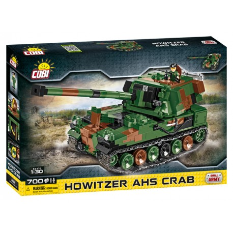 Small Army Howitzer AHS Crab, 1:30, 700 k, 1 f