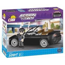 ACTION TOWN Závodní auto, 109 k, 1 f