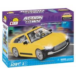 ACTION TOWN Závodní auto GTS, 109 k, 1 f