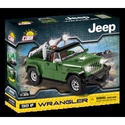 JEEP Wrangler vojenský, 1:35, 98 k