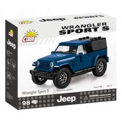 Jeep Wrangler Sport S 1:35, modrý, 98 k