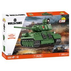 WOT T-34/85, 500 k, 1 f