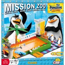 TUČŇÁCI Z MAD Mise Zoo hra 180 k, 3 f