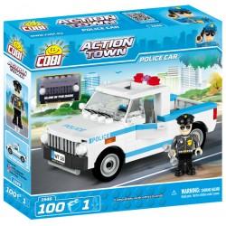 ACTION TOWN Policejní auto 100 k, 1 f