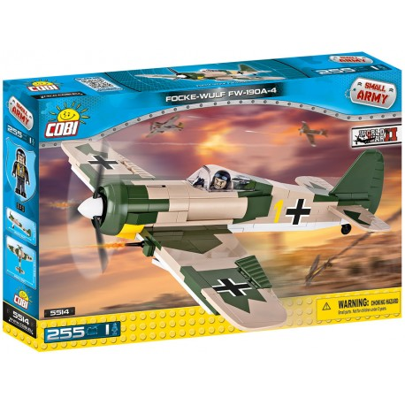 II WW Focke-Wulf Fw 190 A4, 250 k, 1 f
