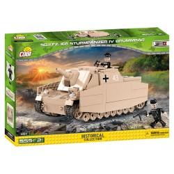 II WW Sturmpanzer IV Brummbar Sd Kfz 166, 555 k, 2 f