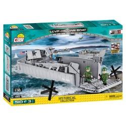 II WW D-DAY LCVP Higgins Boat, 1:35, 510 k, 3 f