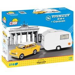 TRABANT 601 s karavanem, 218 k