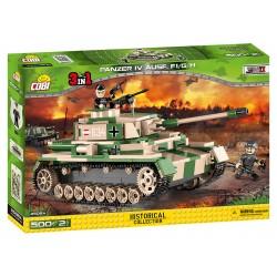 II WW PzKpfw IV Ausf F1/G/H (3 v 1), 500 k, 2 f
