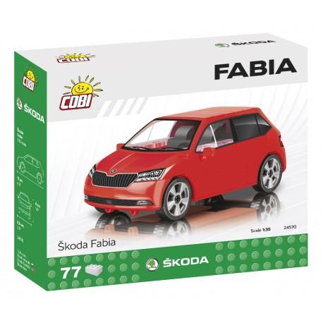 Škoda Fabia model 2019, 1:35, 75 k