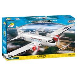 II WW Douglas C-47 Skytrain Dakota Berlin Airlift, 550 k, 1 f