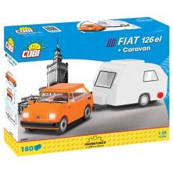 POLSKÝ FIAT 126p s karavanem, 185 k