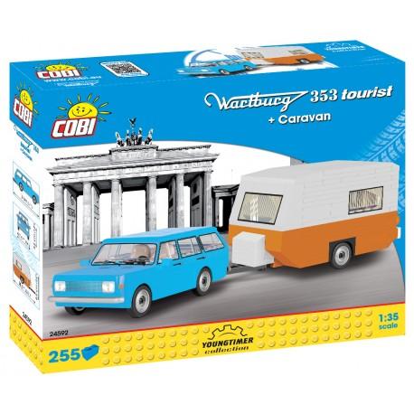 Wartburg 353 Tourist s karavanem, 255 k