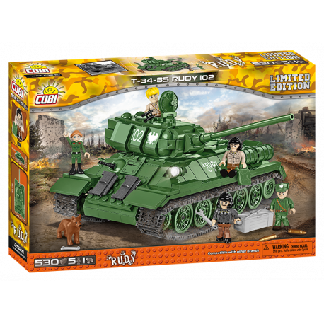 Small Army T-34 Rudy 102, 530 k, 5f a pes