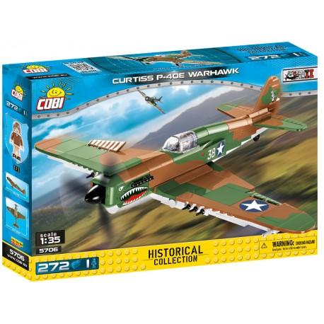 II WW Curtiss P-40E Warhawk, 1:35, 272 k, 1 f