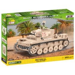 II WW Sd.Kfz.121 PzKpfw II Ausf. F, 420 k, 1 f