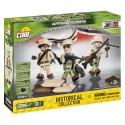 3 figurky s doplňky Afrika Korps, 26 k