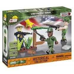 3 figurky s doplňky Vietnamská válka, 26 k