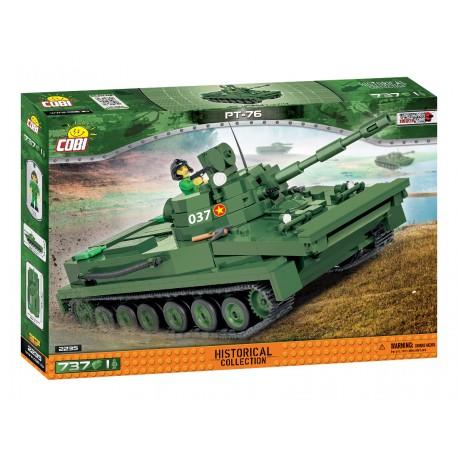 Small Army Light amphibious tank PT-76, 737 k, 1 f