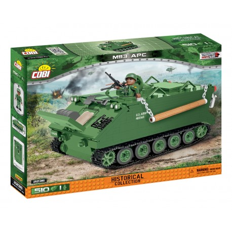 Small Army M113 armored personnel carrier (APC), 510 k, 1 f