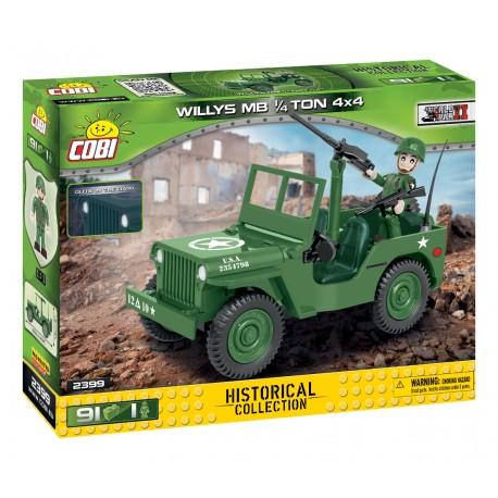 II WW Willys MB 1/4 t 4x4, 91 k, 1 f