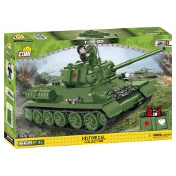II WW T-34-85, 668 k, 1 f
