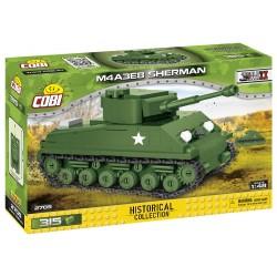 II WW Sherman M4A3E8 Easy Eight, 1:48, 315 k