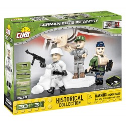 3 figurky s doplňky German Elite Infantry, 30 k