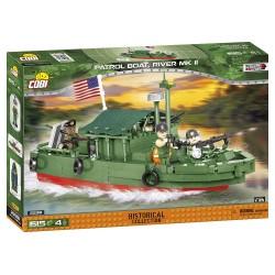 Vietnam War Patrol Boat River MK II, 1:35, 615 k, 4 f